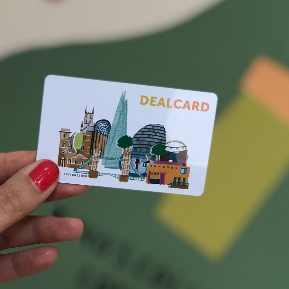 DealCard - The London Bridge DealCard initiative unlocks exclusive offers from local businesses, across an array of sectors including food & drink, health & beauty, retail and more.Find out more +