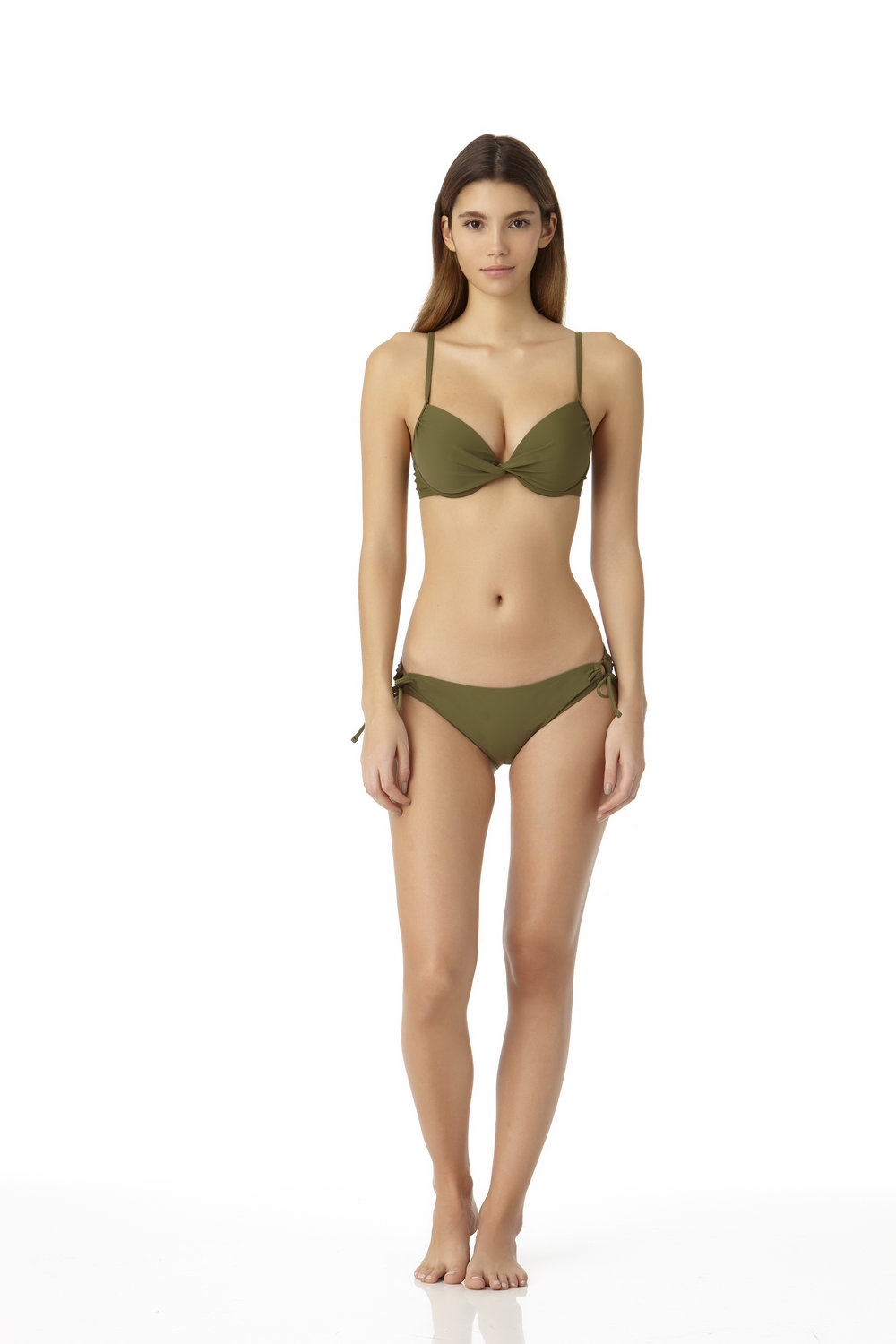 STYLE # CBC07342TL/ CBC07510B - Twist Front Underwire Bikini TopCOMING SOON TO WALMARTSide Tie Scoop BottomCOMING SOON TO WALMART