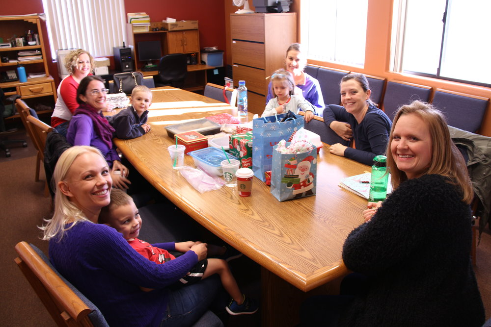Moms' Group at Monday Bible Study