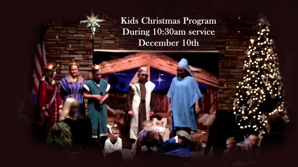 Kids Christmas Program - Dec 10th — Lord of Grace Lutheran Church