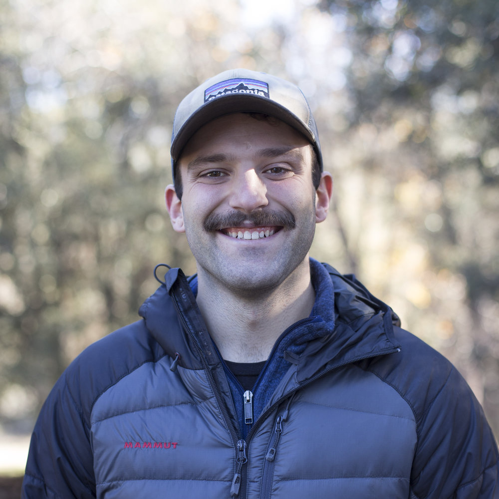 Josh Anderson - Josh Anderson is on staff here at YWAM Yosemite, where he also did his DTS, with his wife Sabrina. Not only is he passionate about discipleship, sustainability and community development... but he's also a bearded (or sometimes mustached) outdoorsman and an avid rock climber.