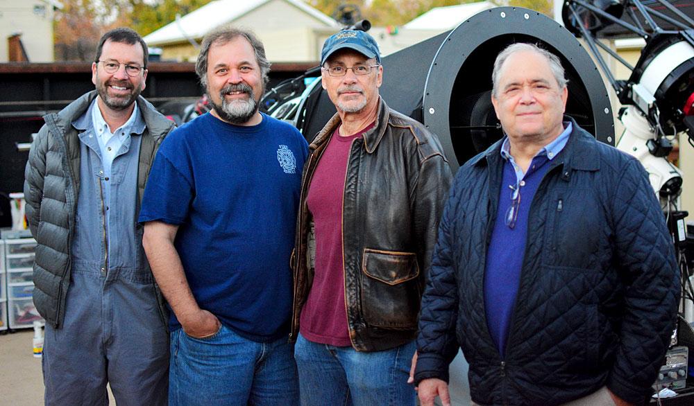 Mel Helm, Geoff Stone, Larry Van Vleet, Keith Quattrocchi