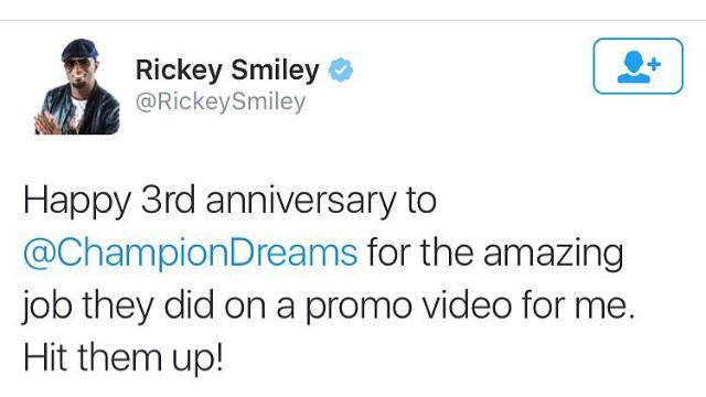 - Rickey Smiley