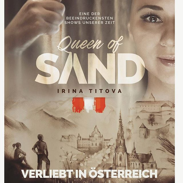 Das Poster für unsere neues Show.  Coming soon😉😎 Artwork for the new show. Coming soon😉😎 #sandmalerei #sandshow #sandartist #art #show #performance #gala #process #irinatitova #Sandartshow #kunst #homeland #sandart #sand