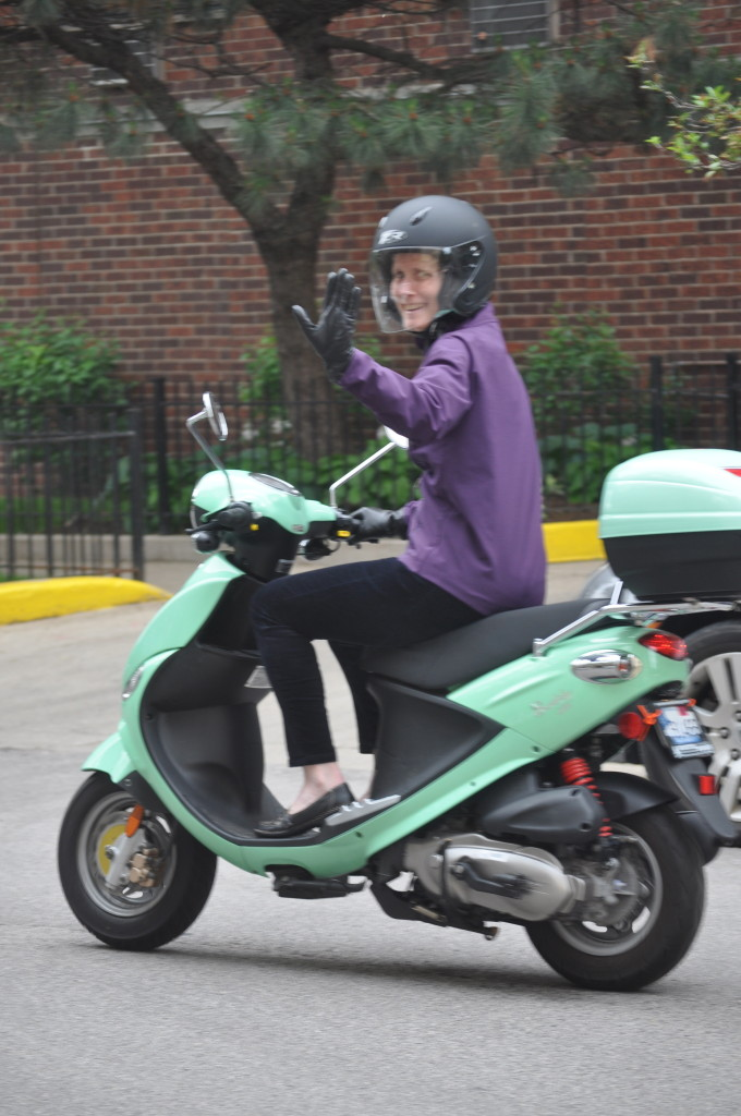 Beth Brown Scooter