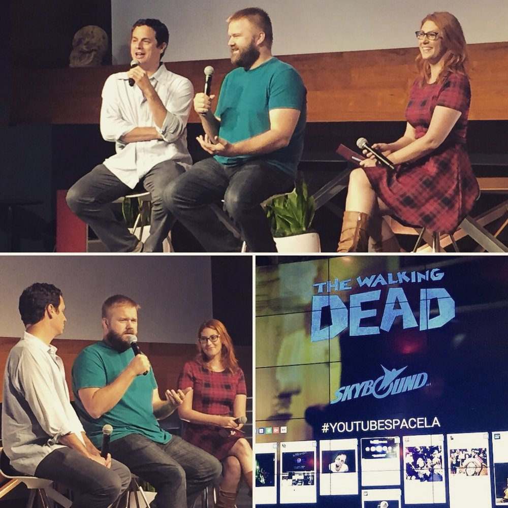 Robert Kirkman and David Alpert