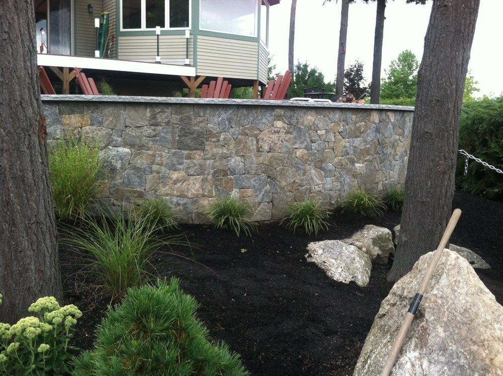 STONE Retaining Walls -