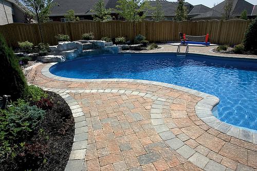 Beautiful paver patios with stone veneerinLexington, MA