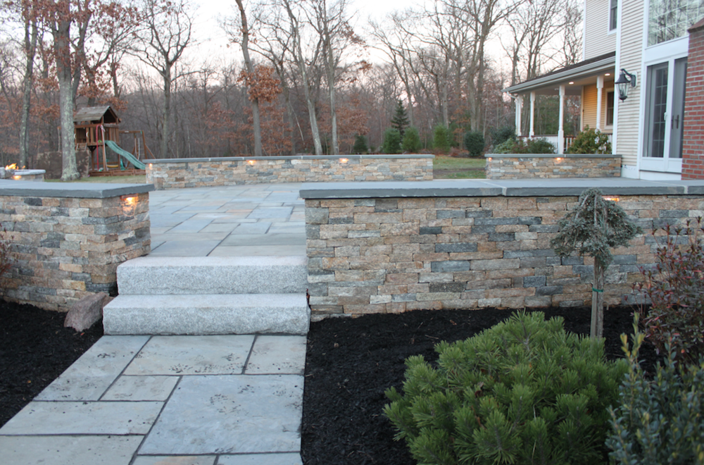 Best landscape design with paver patios in Waltham, MA