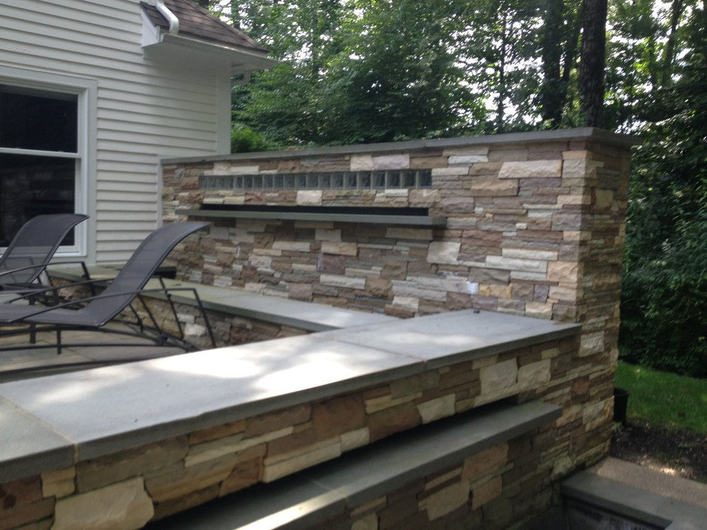 Top landscaping design company mason in Laconia, NH