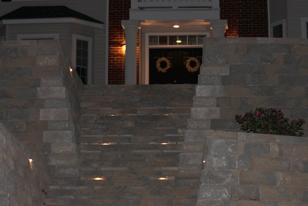 Top landscape design with outdoor lighting in Concord, NH