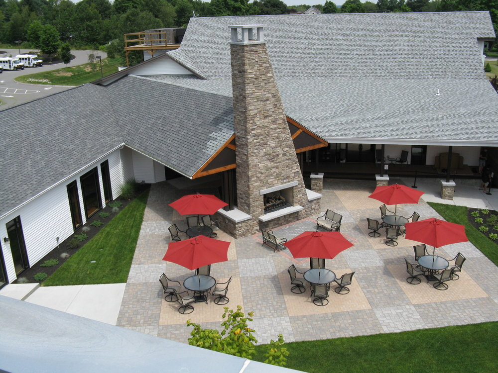 Professional outdoor fireplace design in Amherst, NH