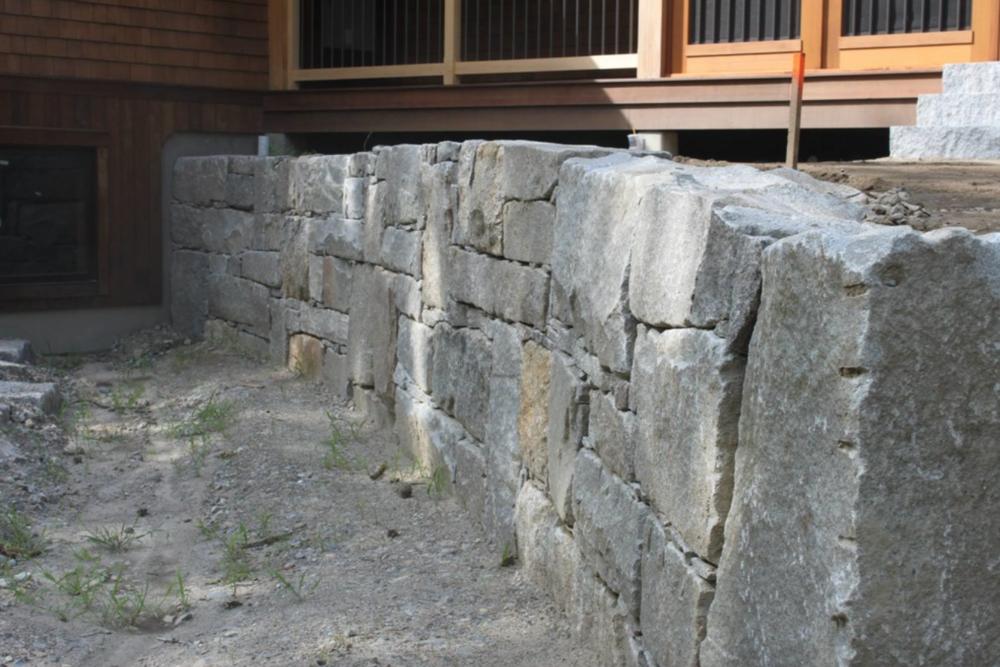 Hollis, NH masonry landscape design and installation