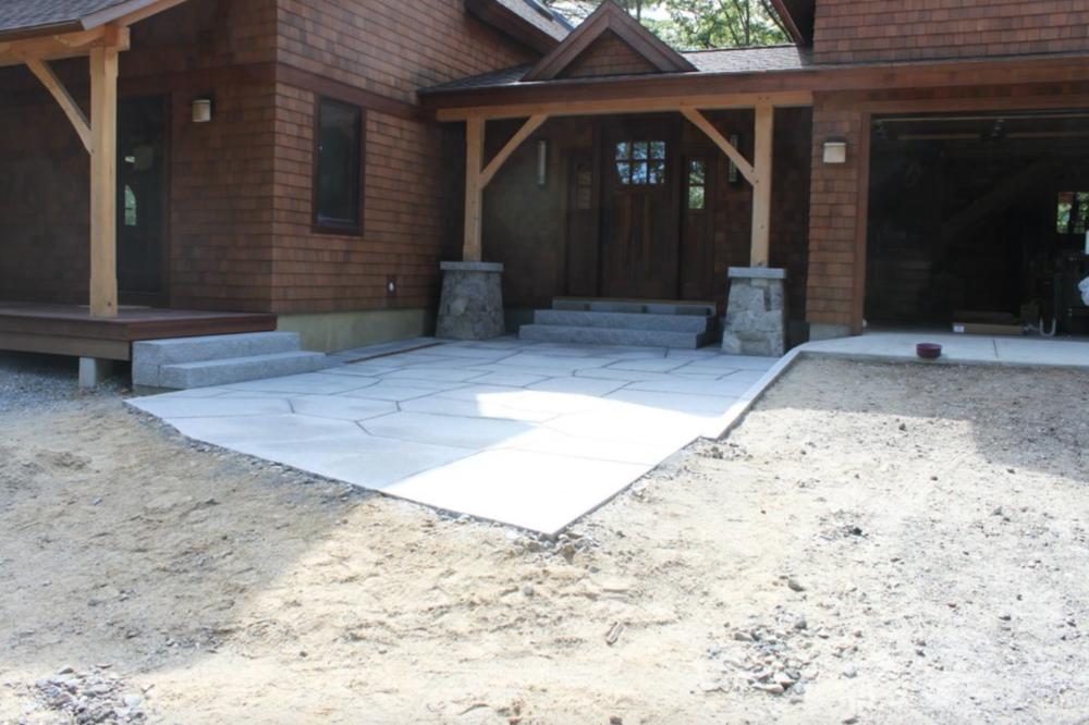 Landscaping services, including landscape design in Hollis, NH