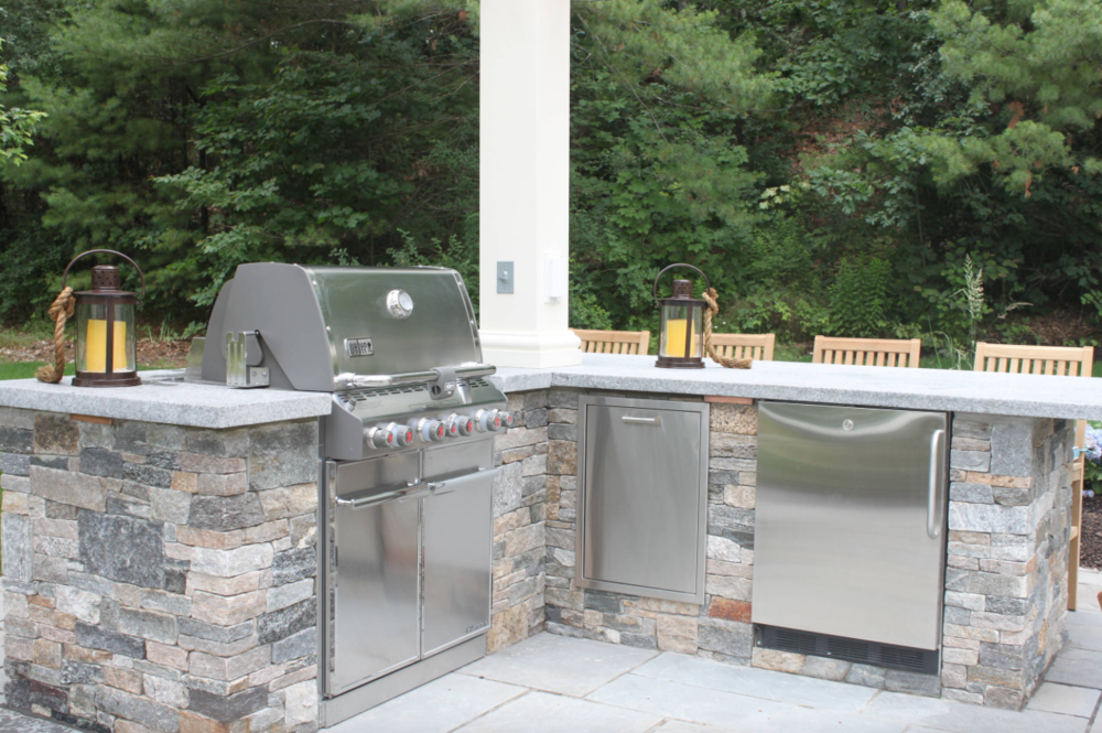 Outdoor Masonry Kitchens in Hollis, NH