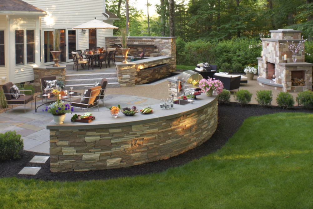 Stunning landscaping services in Amherst, NH
