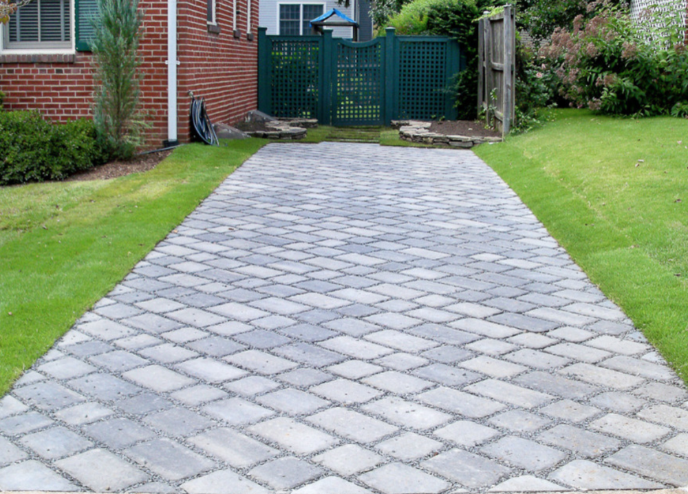 Top paver walkways by landscaper in Milford, NH
