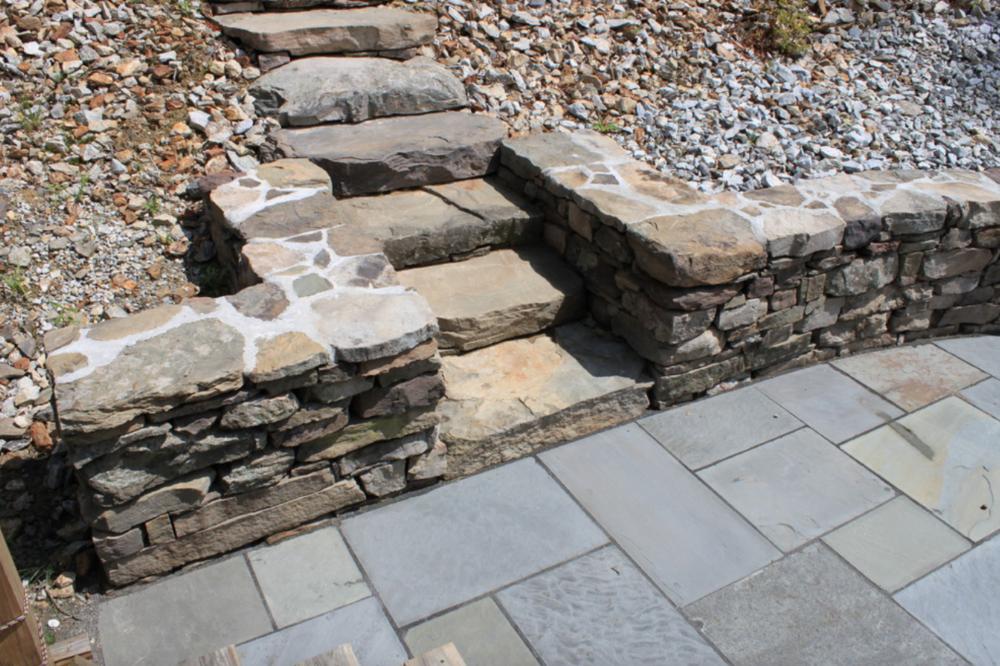Landscaing services with masonry in Waltham, MA
