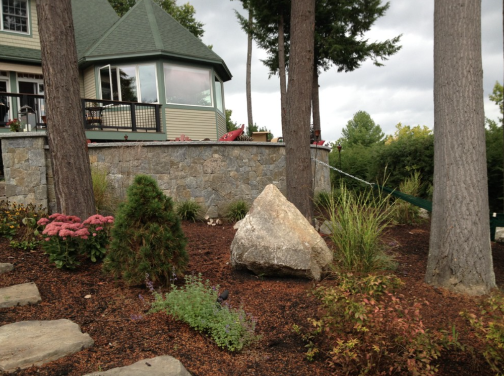 Landscaping services by certified landscaper in Lexington, MA