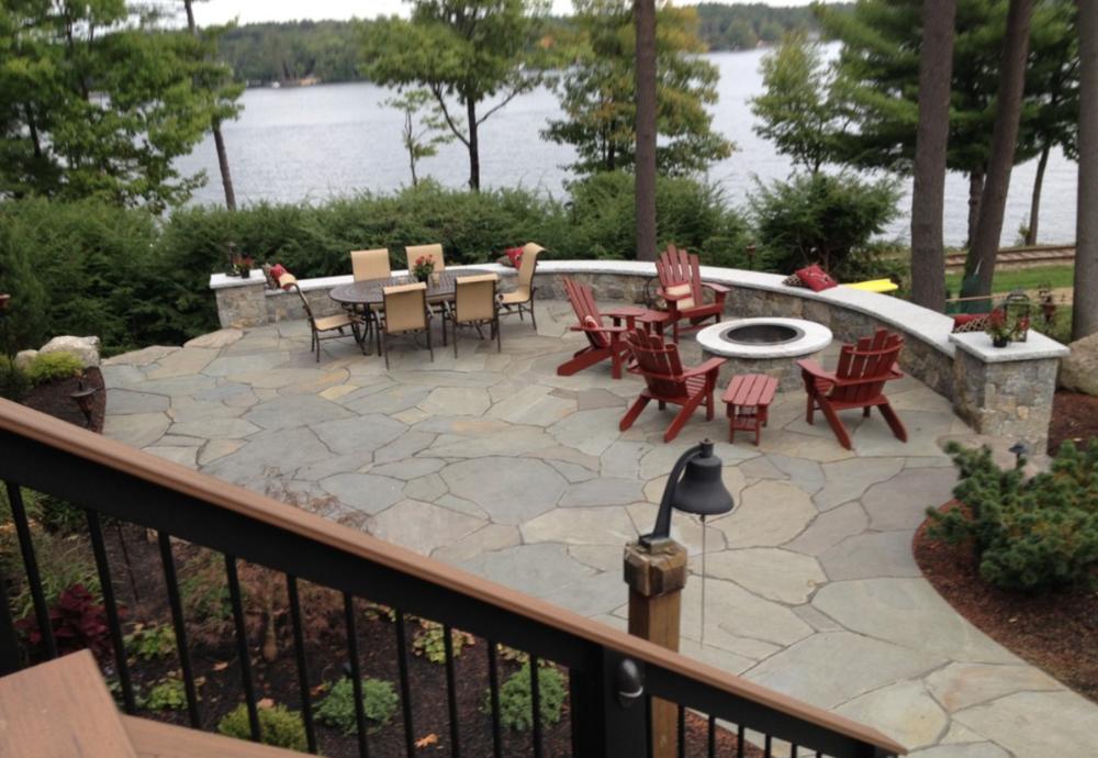 Landscape patio design | Laconia, NH