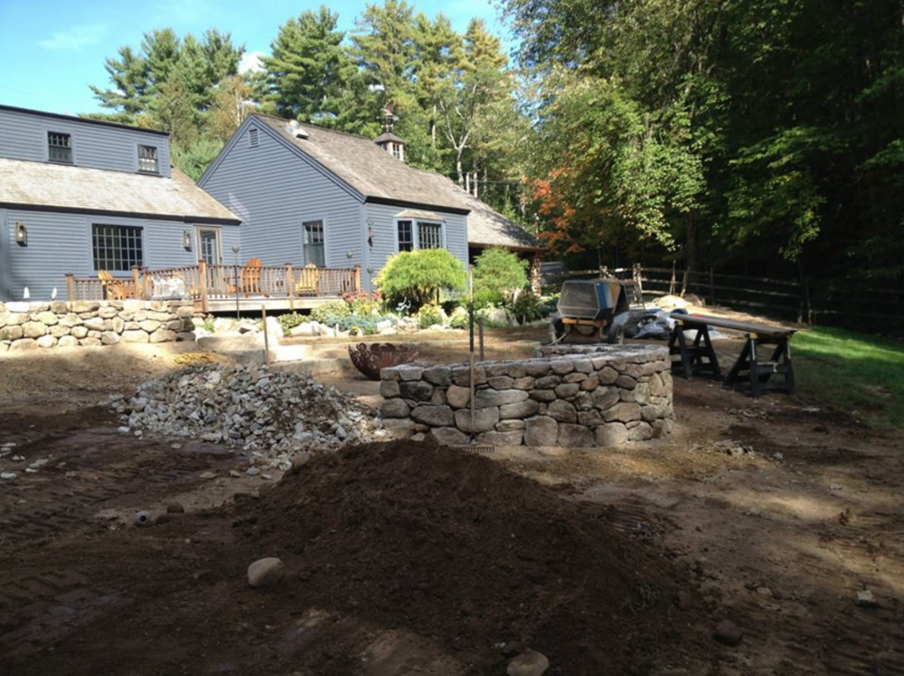 Laconia, NH landscaping services, including landscape design