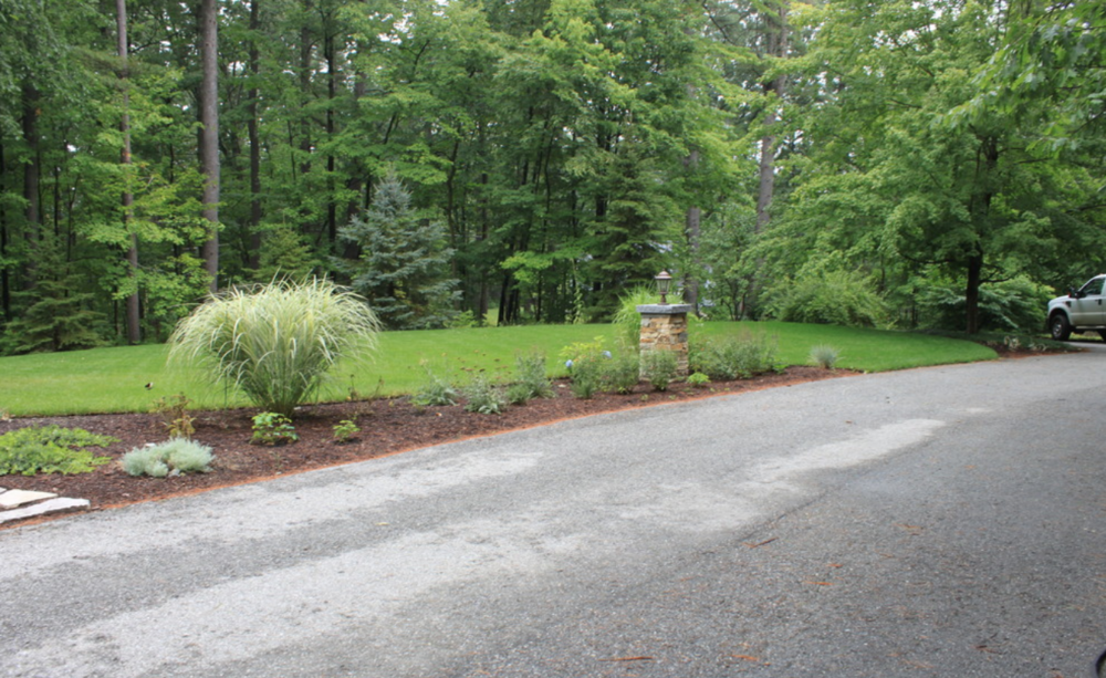 Beautiful landscape design in Amherst, NH