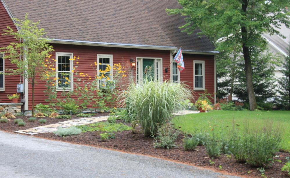 Beautiful landscape design in Concord, NH