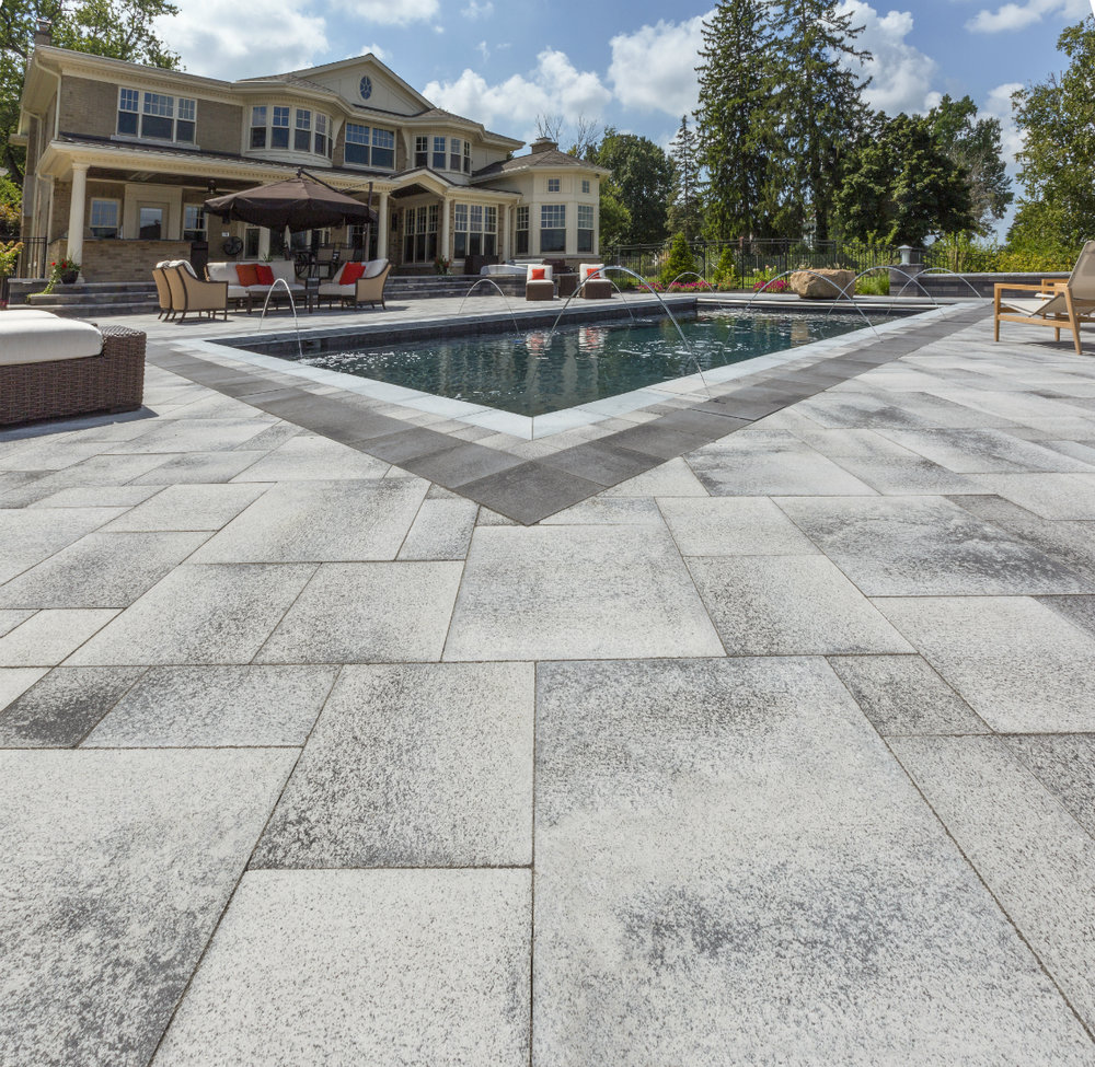 4 Color Combos for your Paver Patio Design in Amherst, NH