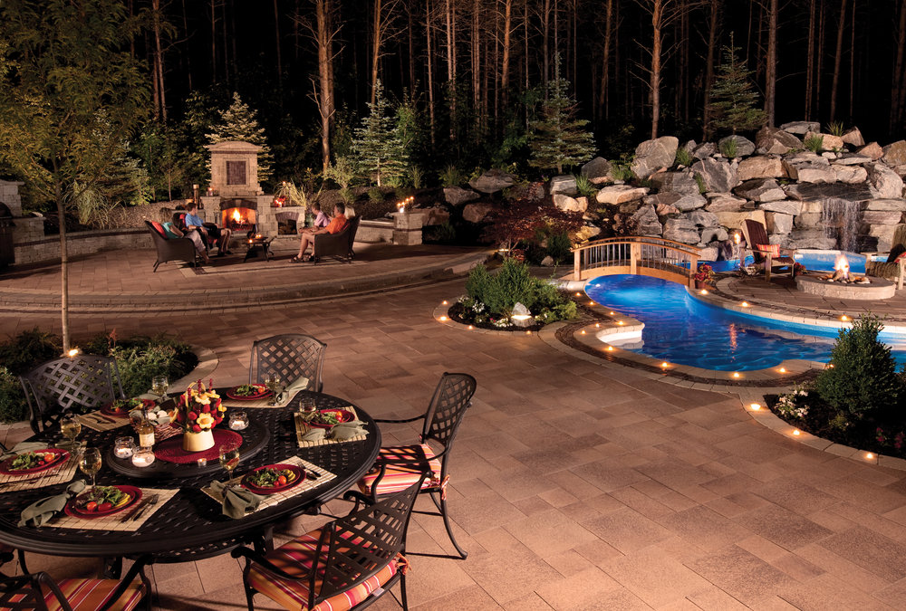 Set the Mood for Your Outdoor Dining with Outdoor Lighting in Concord, NH