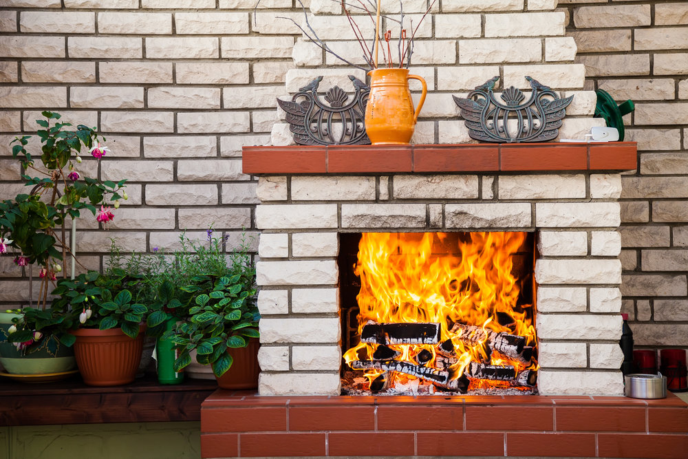 Spruce Up Your Old Outdoor Fireplace with Stunning Brick Masonry in Amherst, NH
