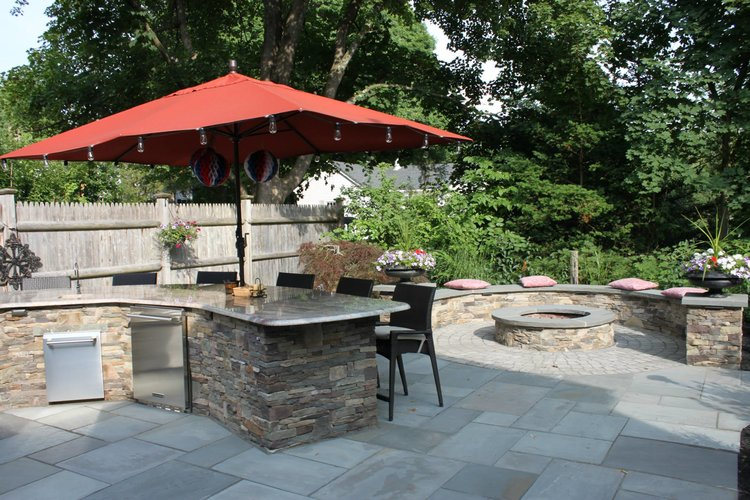 Give Your Hollis Nh Paver Patio A Facelift With These Landscape