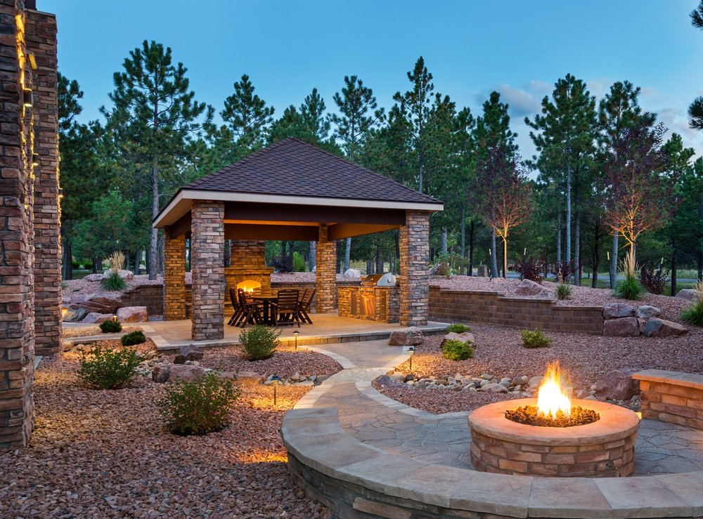 Outdoor Kitchen Roof and Covering Ideas for Your Backyard Landscaping in Concord, NH