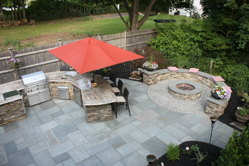 A Landscaper's Tips for Winterizing your Outdoor Kitchen in Waltham, MA