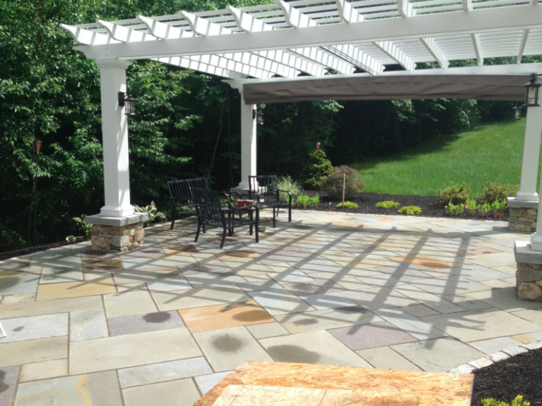Let a Landscaper Light Up Your Laconia, NH, Pergola with Beautiful Outdoor Lights