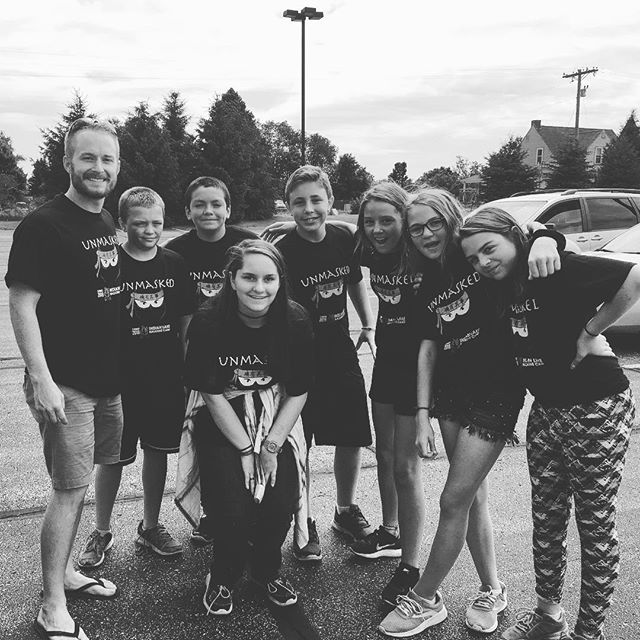 What a group!  @indianlakenazcamp  #juniorhighcamp #Jesus #NMD #growth #unmasked #therealyou