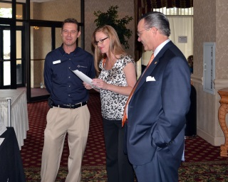 Richard Owens , Catch21 Sales Executive  Kassie Danker , SVP/Cash Management of Valliance Bank  Brad Swickey , President/CEO of Valliance Bank