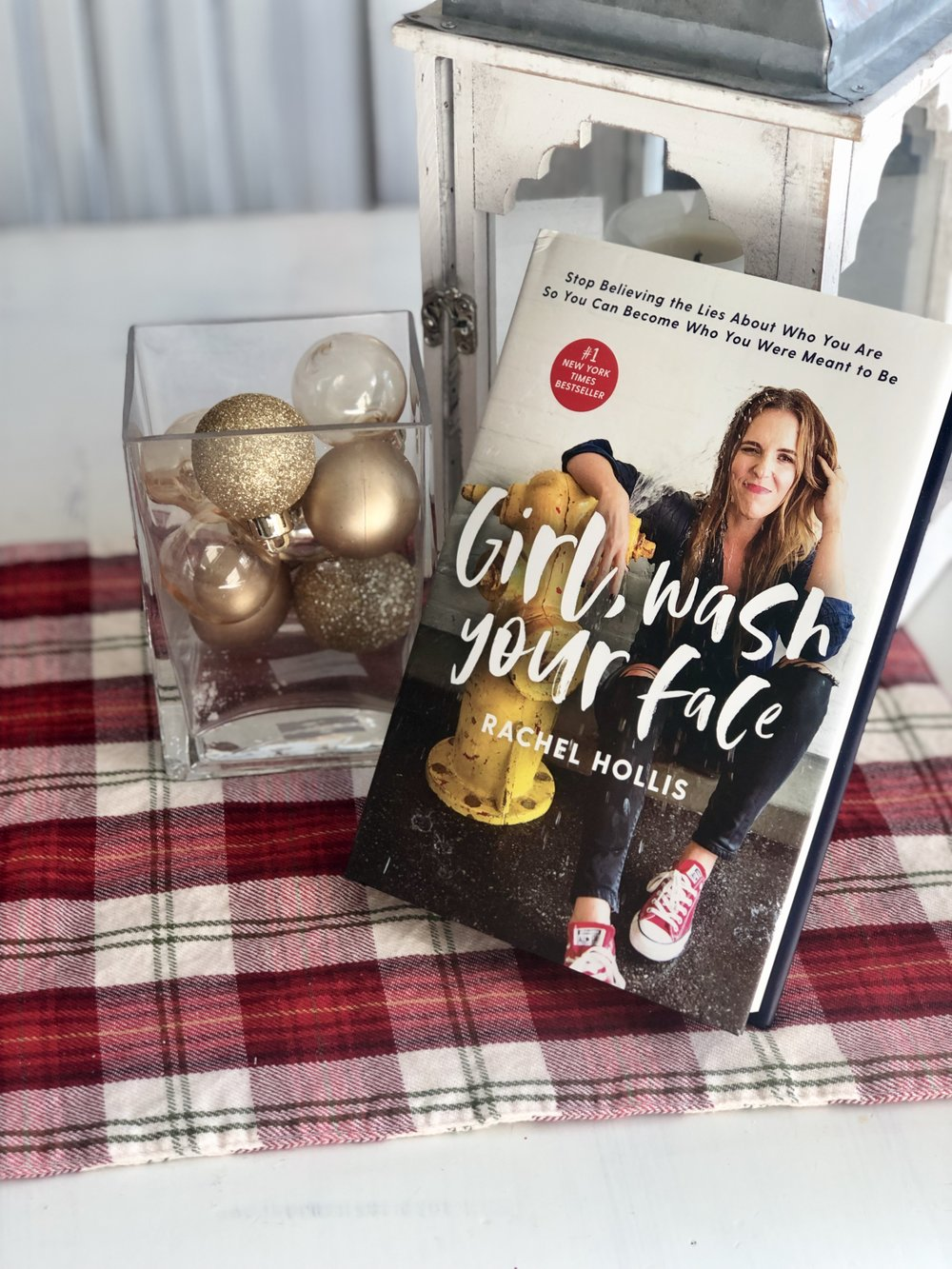 I love listening to a podcast while on the road or at my desk working. One of my favorite ones to listen to is  The Rise by Rachel Hollis  so I am very excited about putting Rachel's book in someone's stocking…it actually might end up in mine.