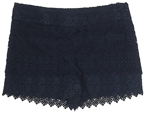 Navy lace shorts from  ThredUp  - LOVE this site!