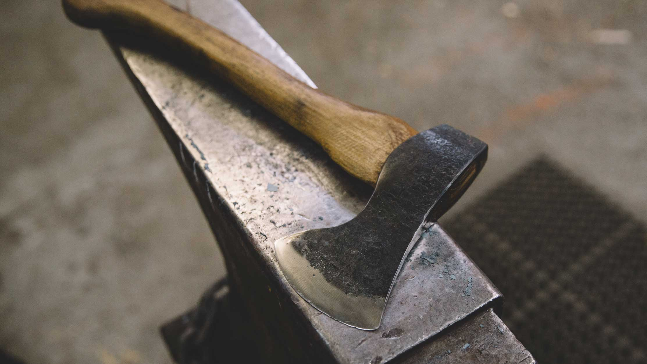 fire horse forge // seattle knife making classes