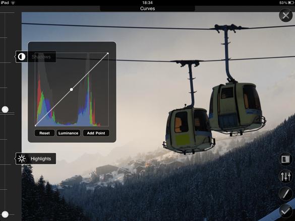 Filterstorm iPad App