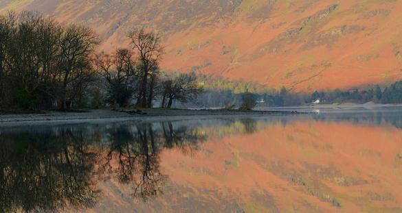 Morning light on Derwent