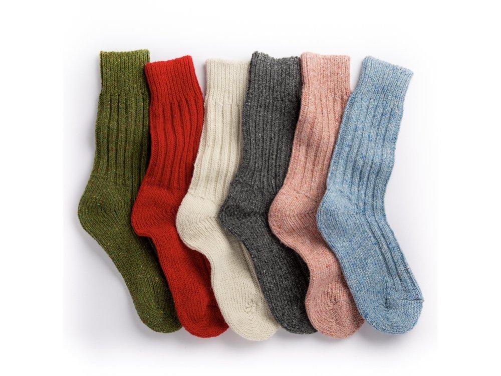 Orwell & Browne - Irish Wool Socks - Made In Ireland