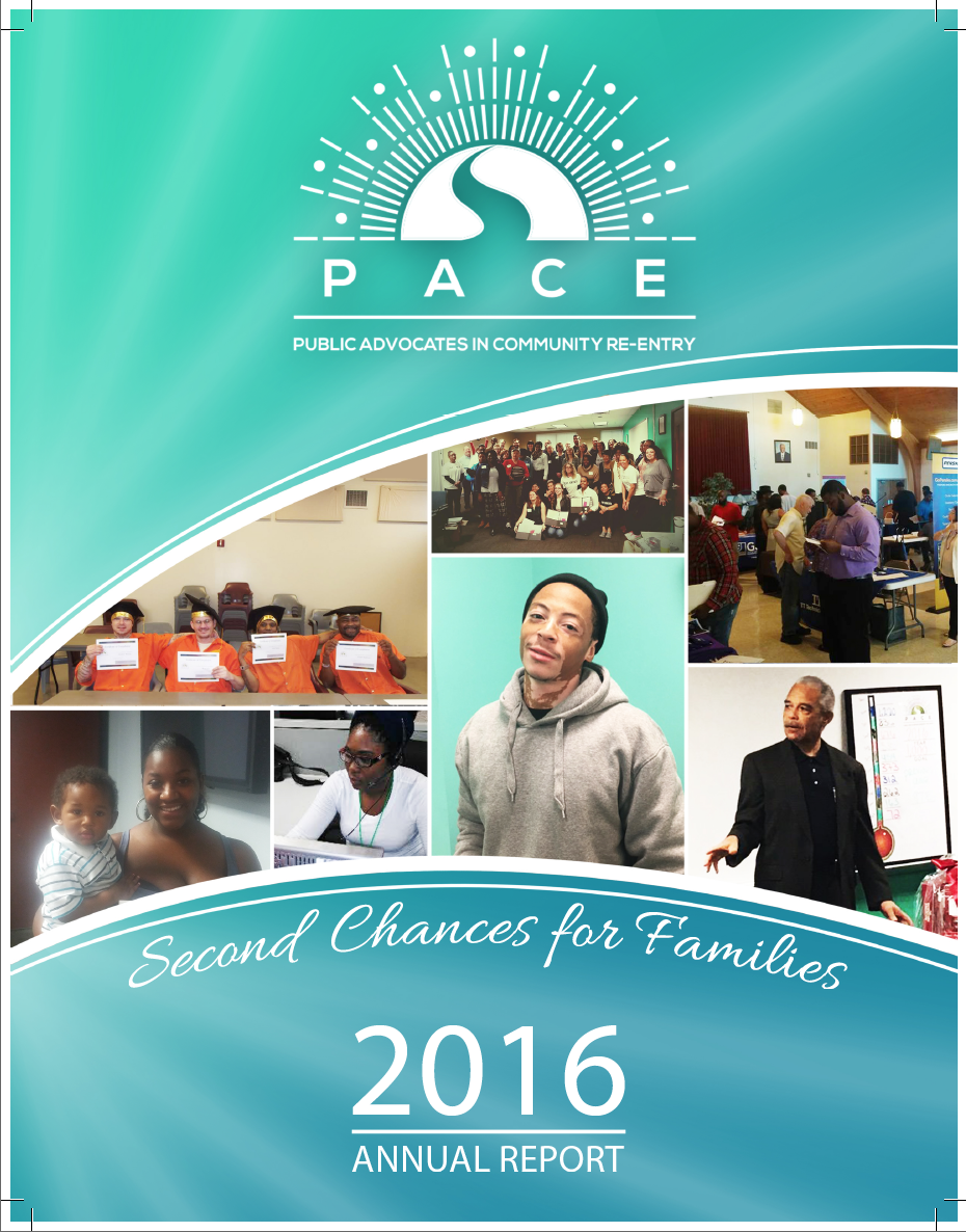 PACE Indy - 2016 annual report cover design