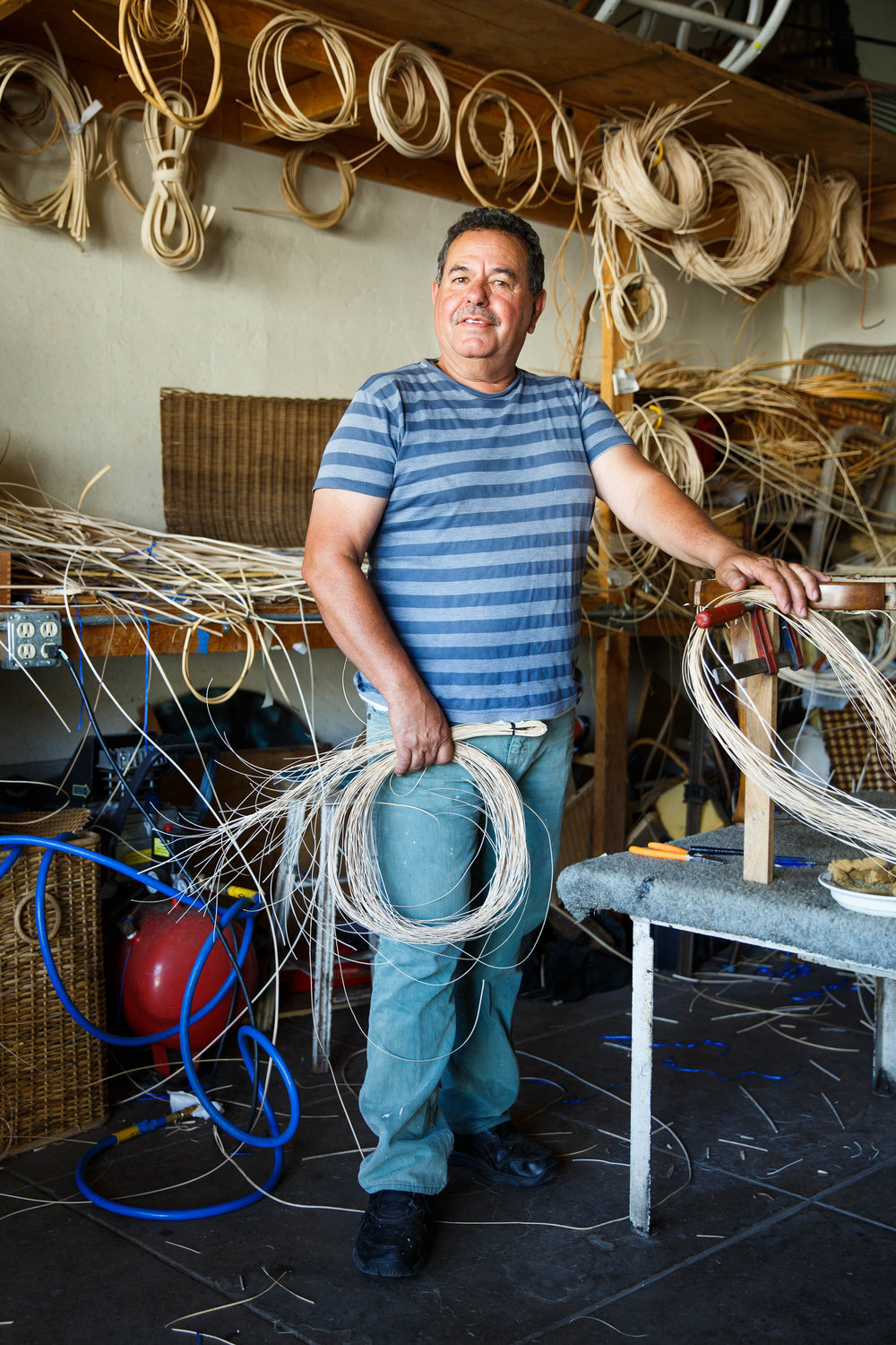 Pascual Olmos | Cane weaver -
