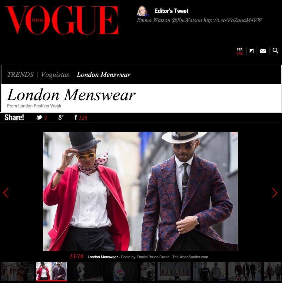 Vogue Italia Street Style