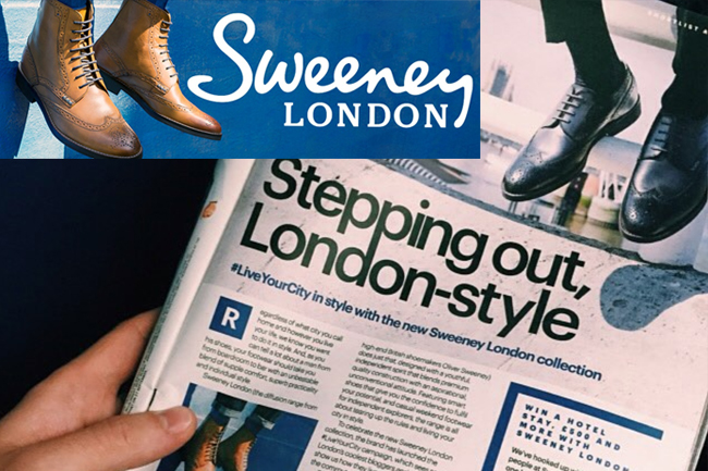 SWEENEY LONDON CAMPAIGN