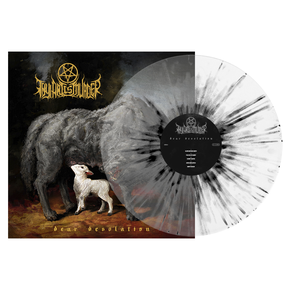 Thy Art Is Murder - Dear Desolation LP (Clear White Black Splatter).jpg