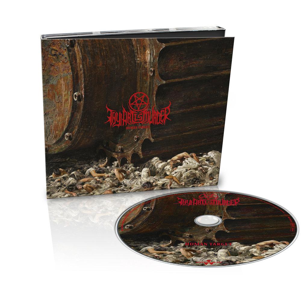 Thy Art Is Murder - Human Target - CD (Digipak)