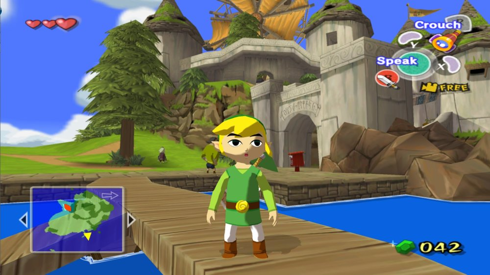 The Legend of Zelda: The Wind Waker effectively demonstrates a modern use of the low-poly art style.