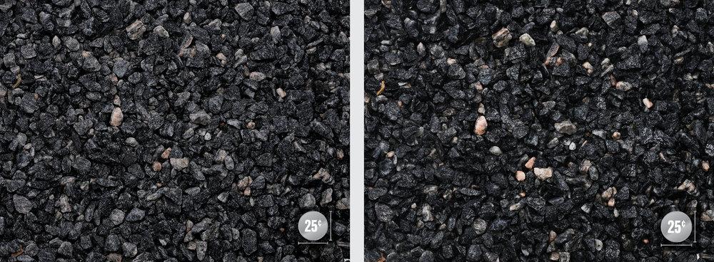 """1/2"""" (Left: Dry, Right: Wet)"""